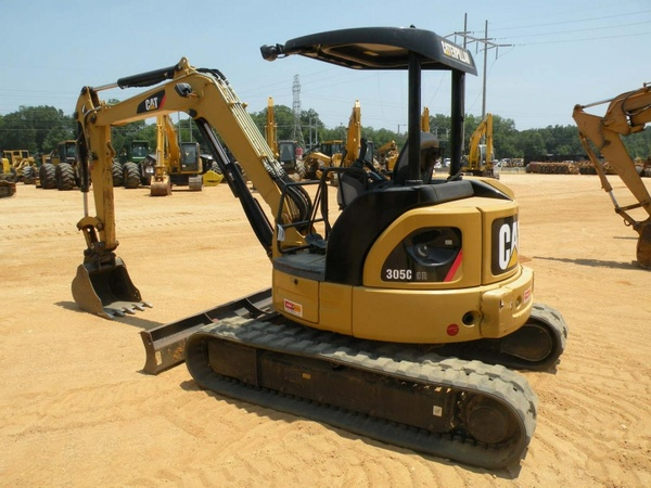 Caterpillar 305C CR, Mini Excavator Hydraulic Service Repair Manual Download
