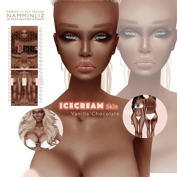 IceCream • Vanilla Chocolate Skin4
