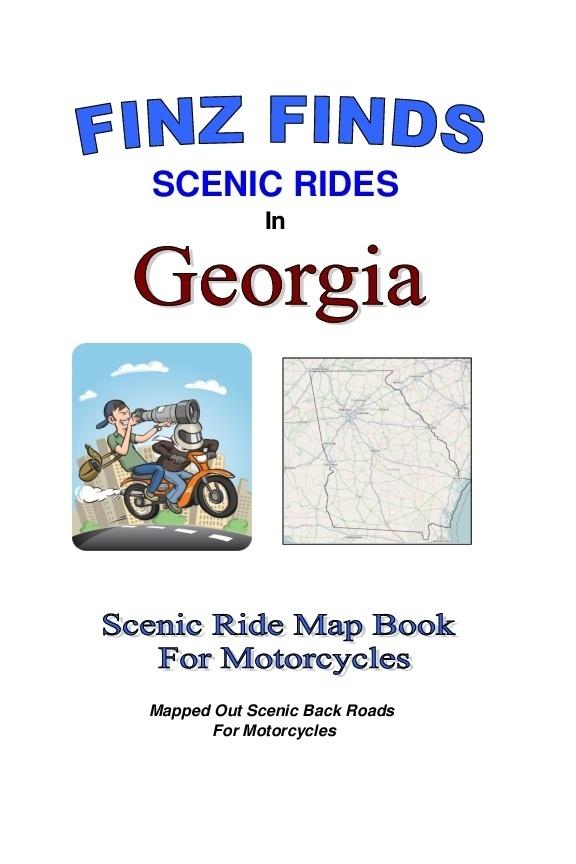 Scenic Rides In Georgia Book