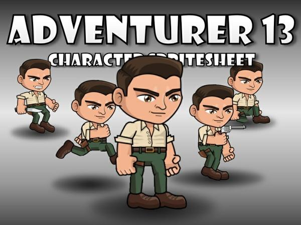 Adventurer Character 13
