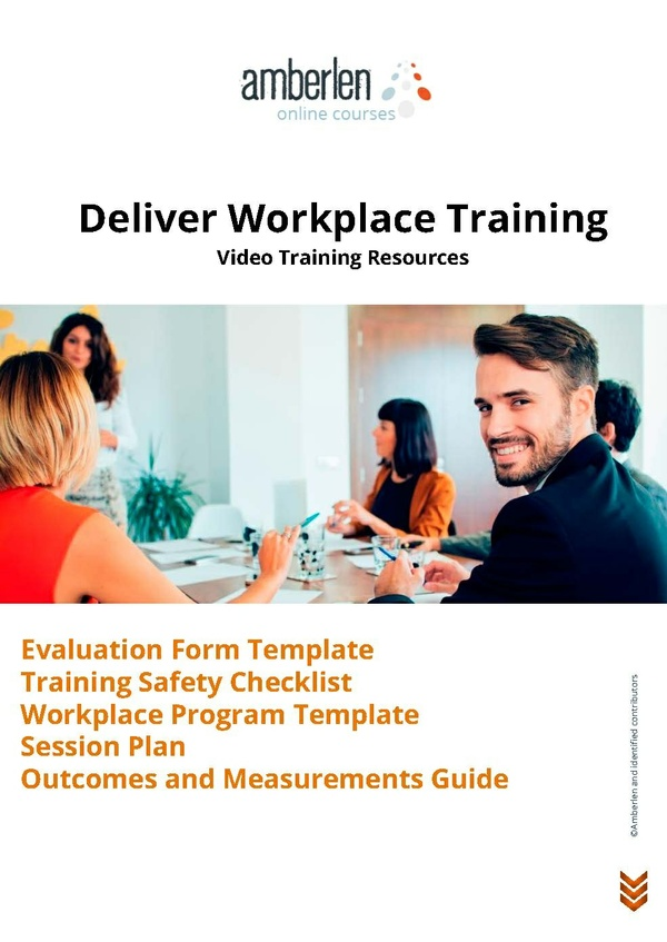 Workplace Training | Resource Book