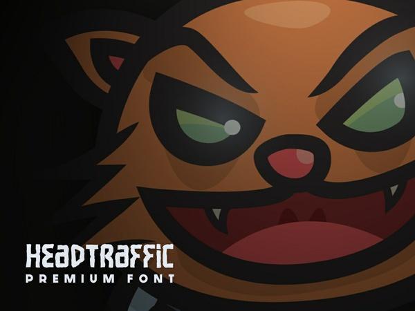Headtraffic Premium Font