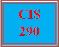 CIS 290 Week 2 Worksheets (Appendices A, B, & C)