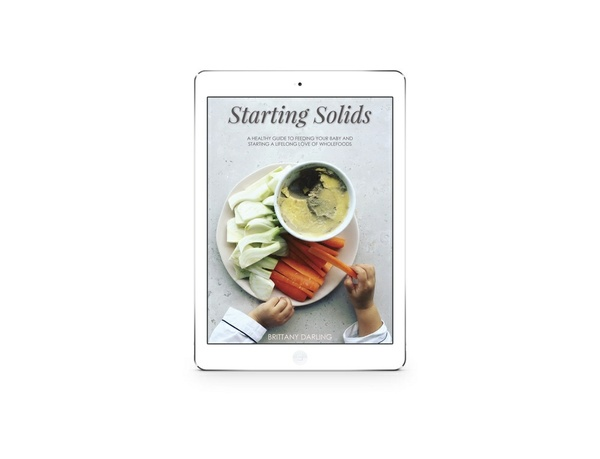 Starting Solids E-Book & Kitchen Companion