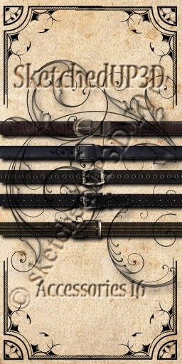 Accessories 16 - Belt Texture Bundle