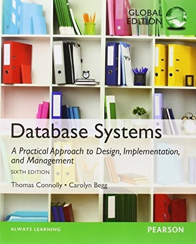 Database Systems A Practical Approach to Design, Implementation 6th ed  ( PDF, Instant download )