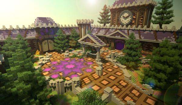 [Minecraft] Purple Hub