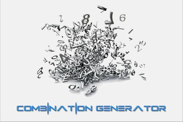 Combination Generator Program