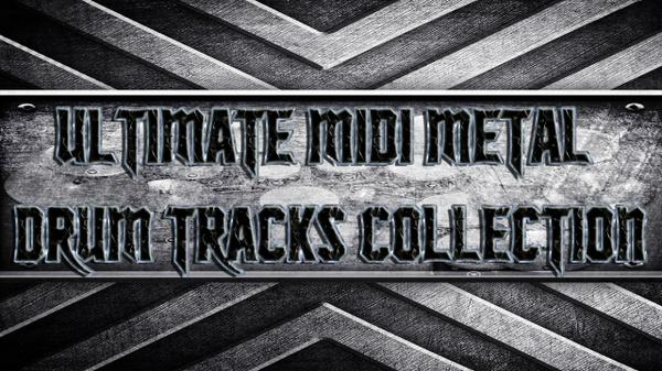 Ultimate Midi Metal Drum Tracks Collection