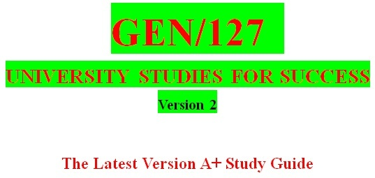 GEN127 Week 7 Academic Writing Integrity