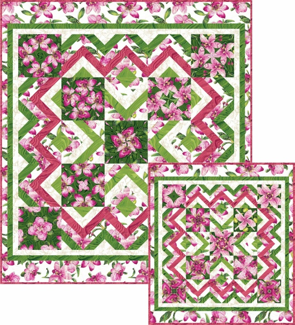 Regent Gardens Wall Hanging or Lap Quilt