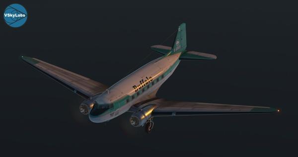 The VSKYLABS DC-3/C-47 Flying Lab Project v001.1