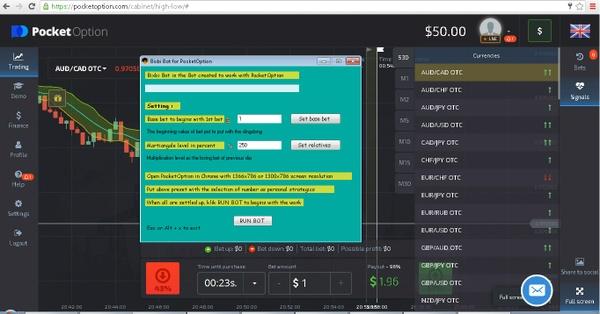 Bixbi Bot For Pocket Option