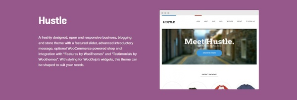 WooCommerce Hustle Theme 1.3.15 Wordpress