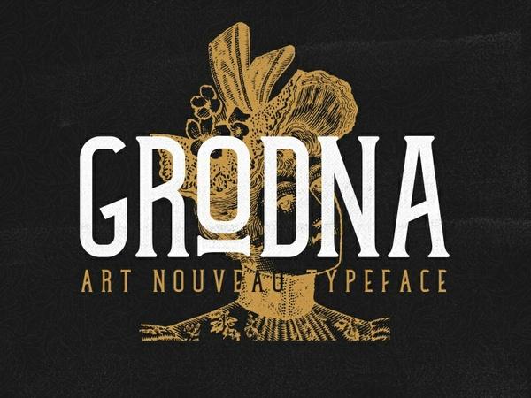 Grodna Demo | Free Font