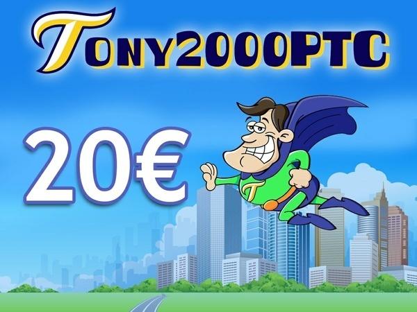 20 € di credito per Tony2000ptc + ebook