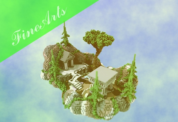 [Minecraft] Lobby Whit portal 2.0