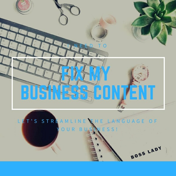FIX MY BUSINESS CONTENT