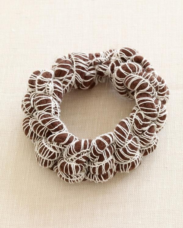 Crochet Scarab Bracelet