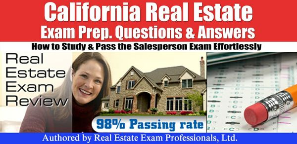California CA Real Estate Practice Prep Exam questions and answers .pdf format