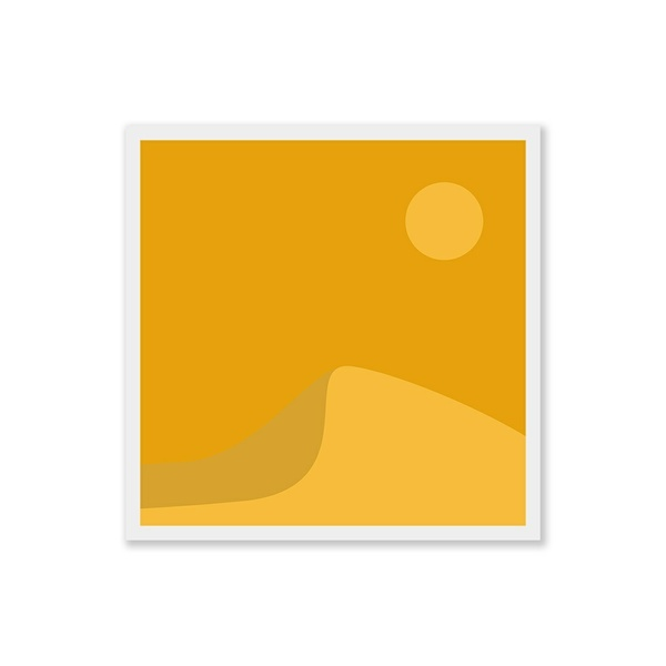 Desert Sand Dune - Square Art Print - Digital Download