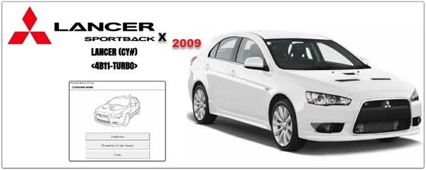Mitsubishi Lancer 2009 Workshop Manual