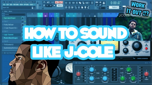 J-Cole Dreamville Recording Template