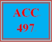 ACC 497 Week 1 FASB Codification System