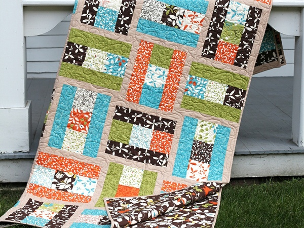 Sew Darn Charming Quilt Pattern