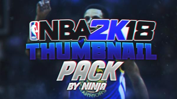 NBA 2K18 Thumbnail Pack