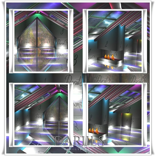 [D]Mesh_winter loft with fireplace 2016