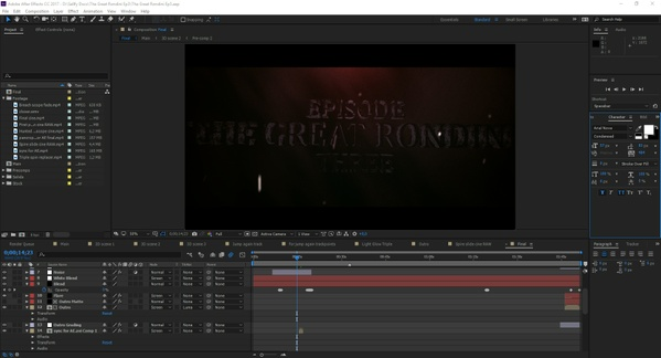 """The Great Rondini #3"" Project files (including all footage - clips, cinematics & prerenders)"