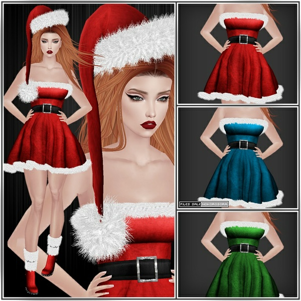 n| Ms Claus Outfit