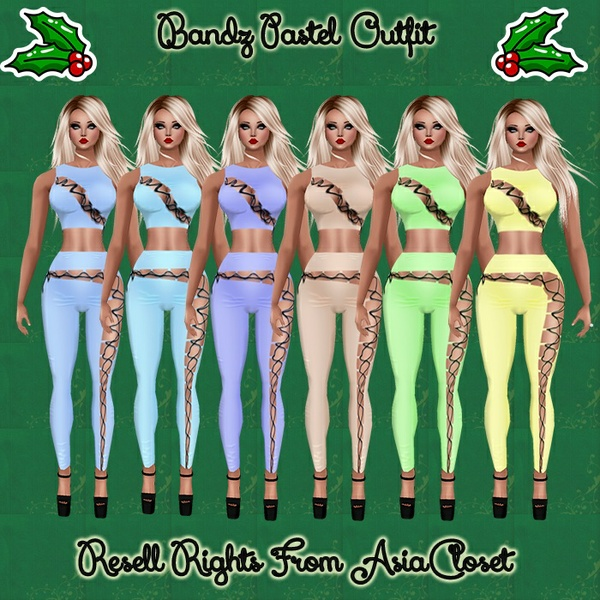 Bandz Pastel Outfit Catty Only!!!