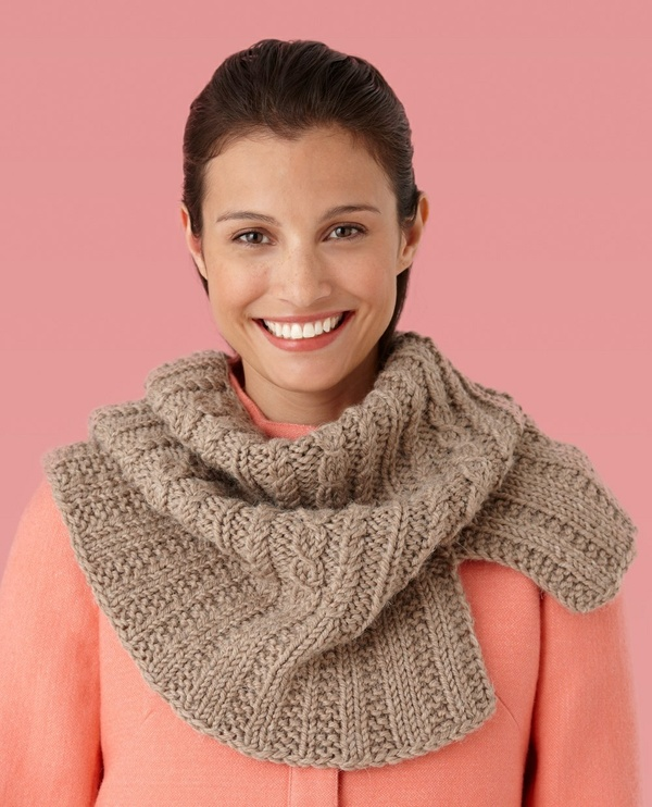 Side Slit Cabled Cowl