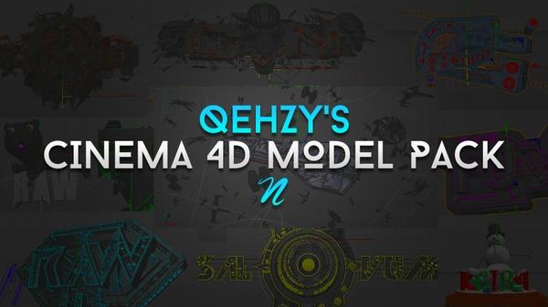 C4D Models Pack