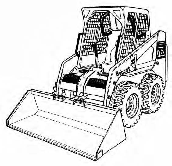Bobcat 763 / 763H BICS G Series Loader Service Repair Manual Download