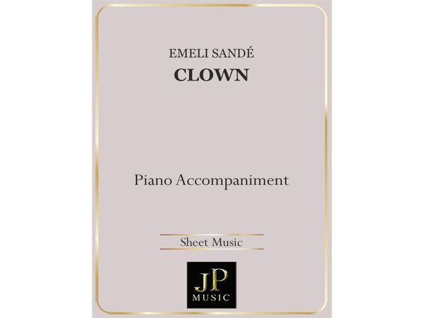Clown (Acoustic) - Piano Accompaniment