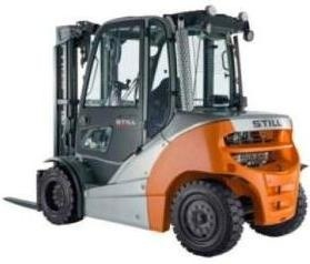Still Diesel Forklift Truck RX70-40D, RX70-45D, RX70-50D: 7331, 7332, 7333, 7334 Operating Manual