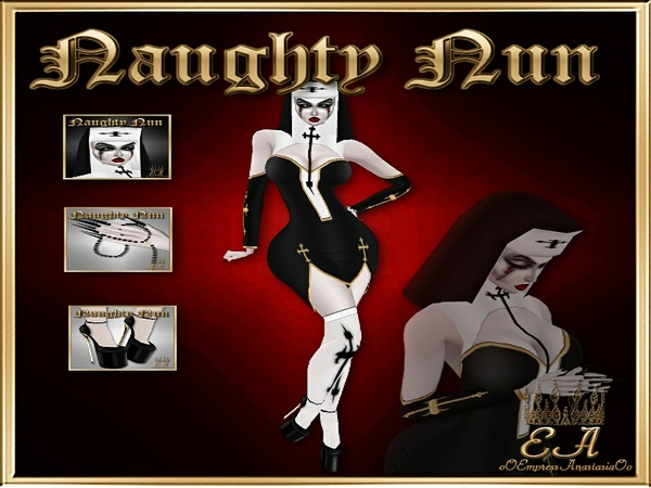 Naughty Nun Collection NO RE-SELL RIGHTS!!!