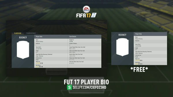 FIFA 17 Player Bio