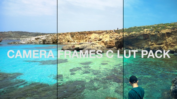 LUT pack by CameraFrames