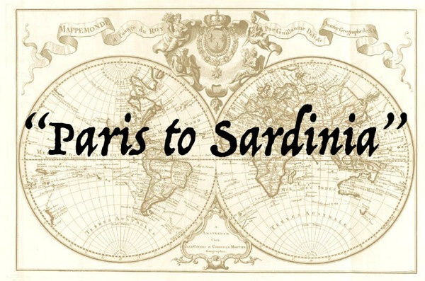Paris to Sardinia (P2S) - Jazz lead sheet