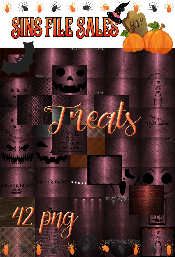 Treats-Texture Pack (42 png)