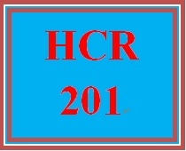 HCR 201 Week 5 Medical Records Documentation and Billing