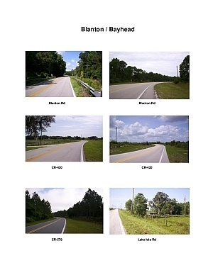 Blanton / Bayhead Scenic Motorcycle Ride (West Dade City - South Spring Lake)