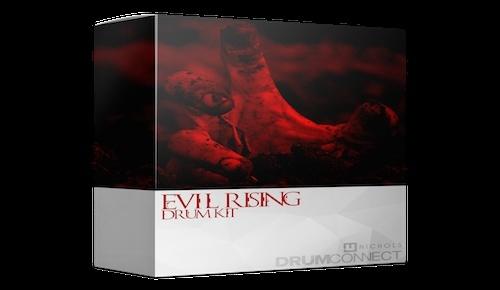 MjNichols - Evil Rising Drum Kit