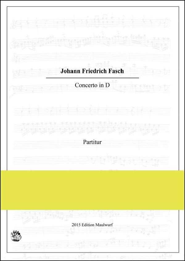 Fasch Concerto in D