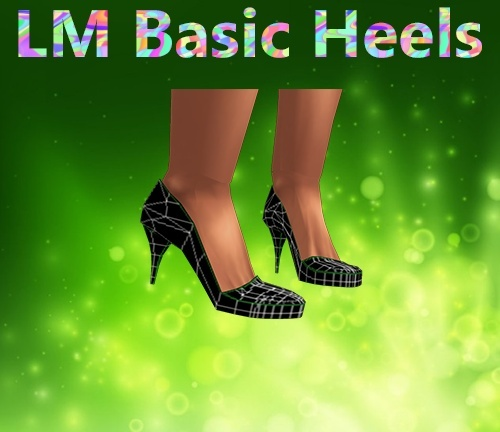 Basic Heels Mesh Catty Only!!!