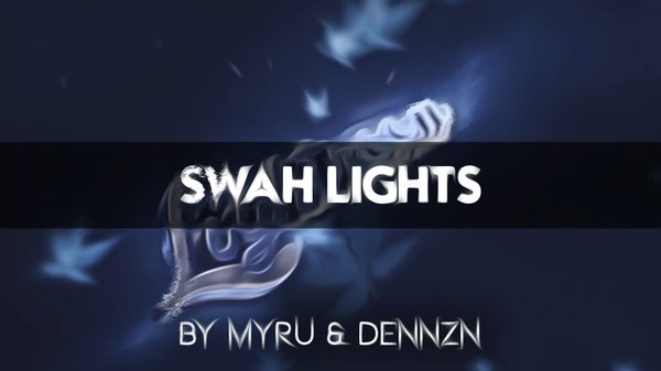 'SWAH LIGHTS' AE+C4D FILE INCLUDED (6€)